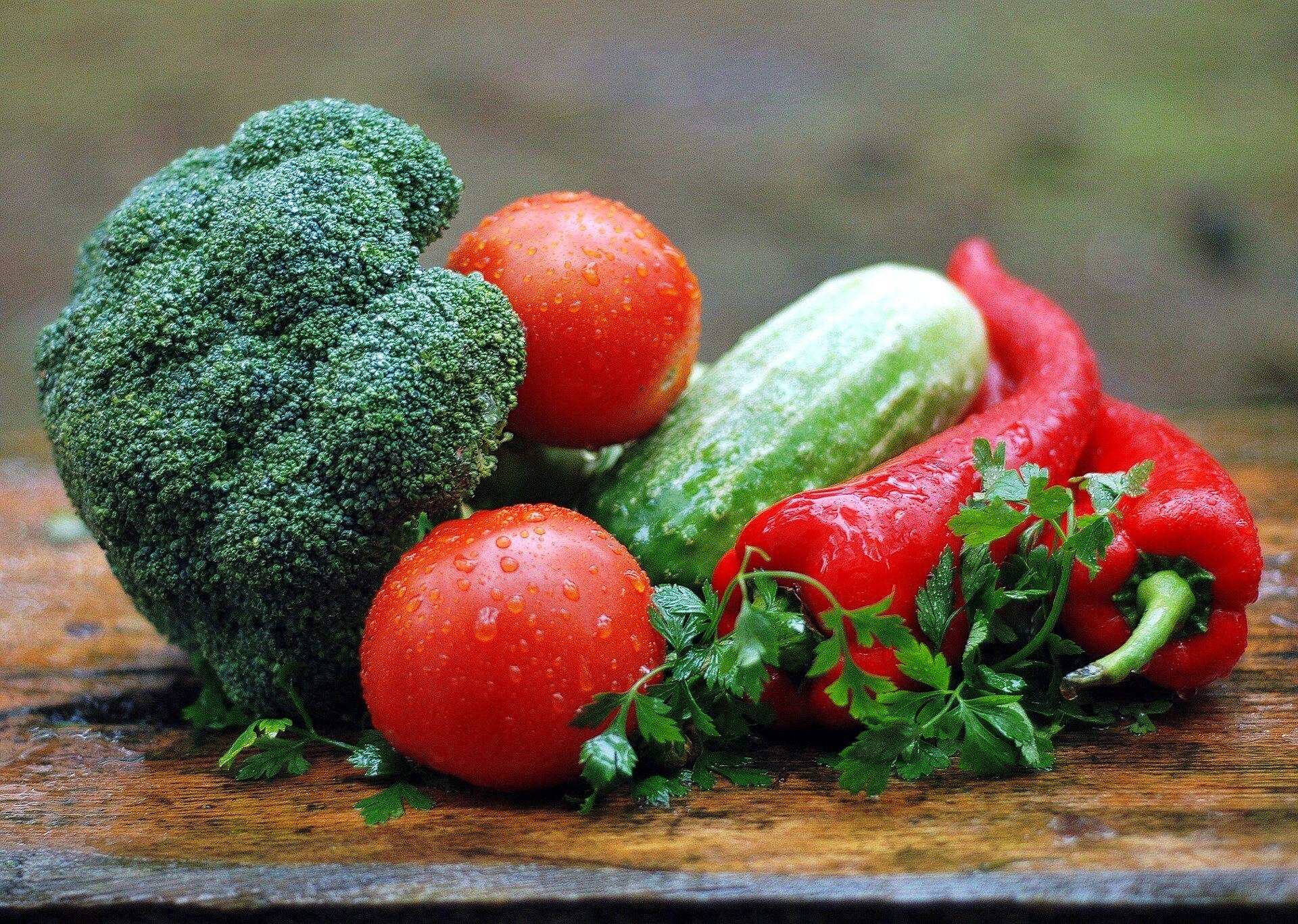 Овощей должно быть много в рационе