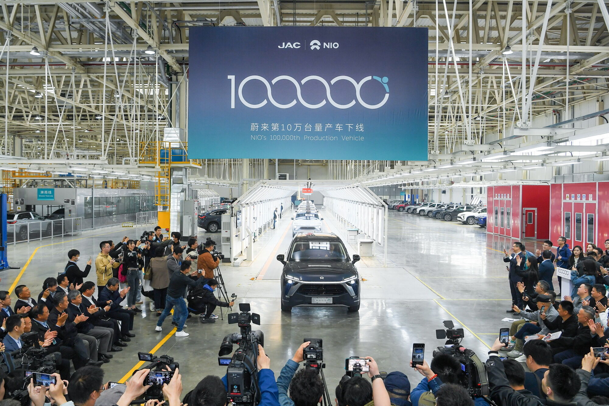 7 апреля нынешнего года компания NIO отметила выпуск 100-тысячного электромобиля