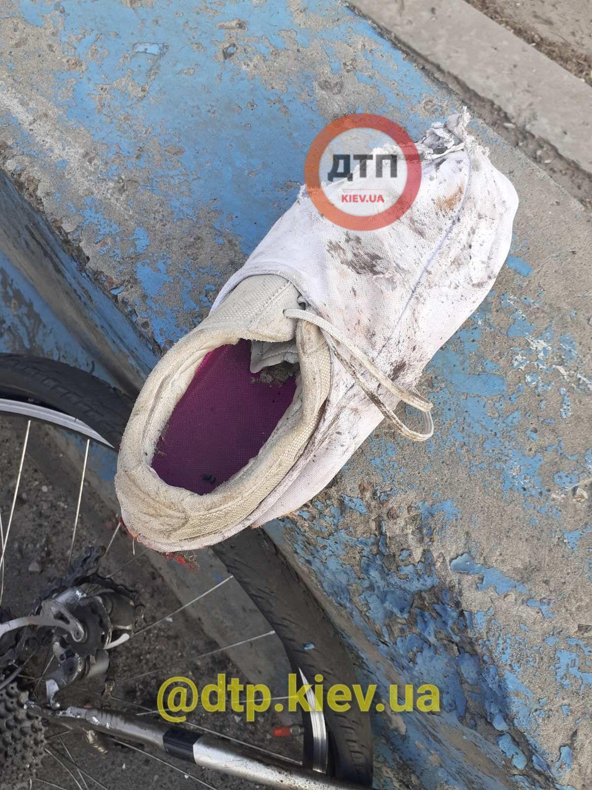 Взуття потерпілого