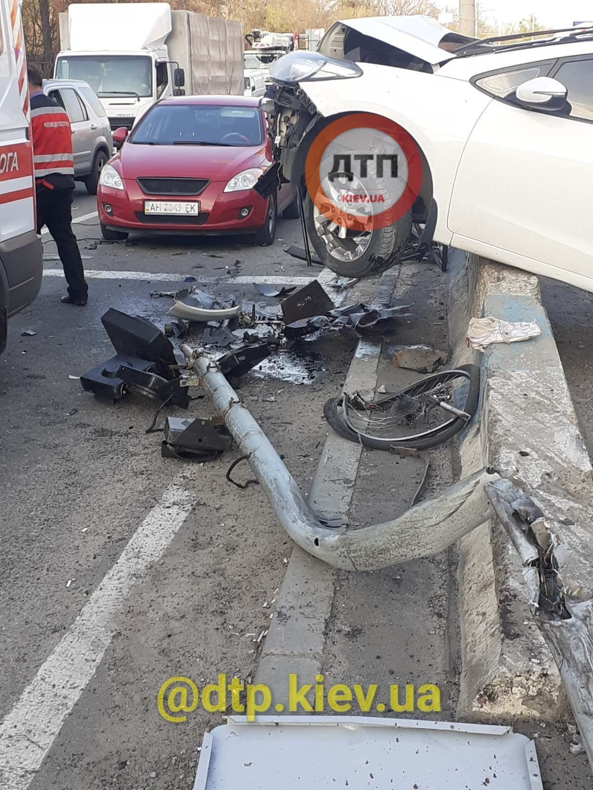 Аварія в Києві 29 квітня