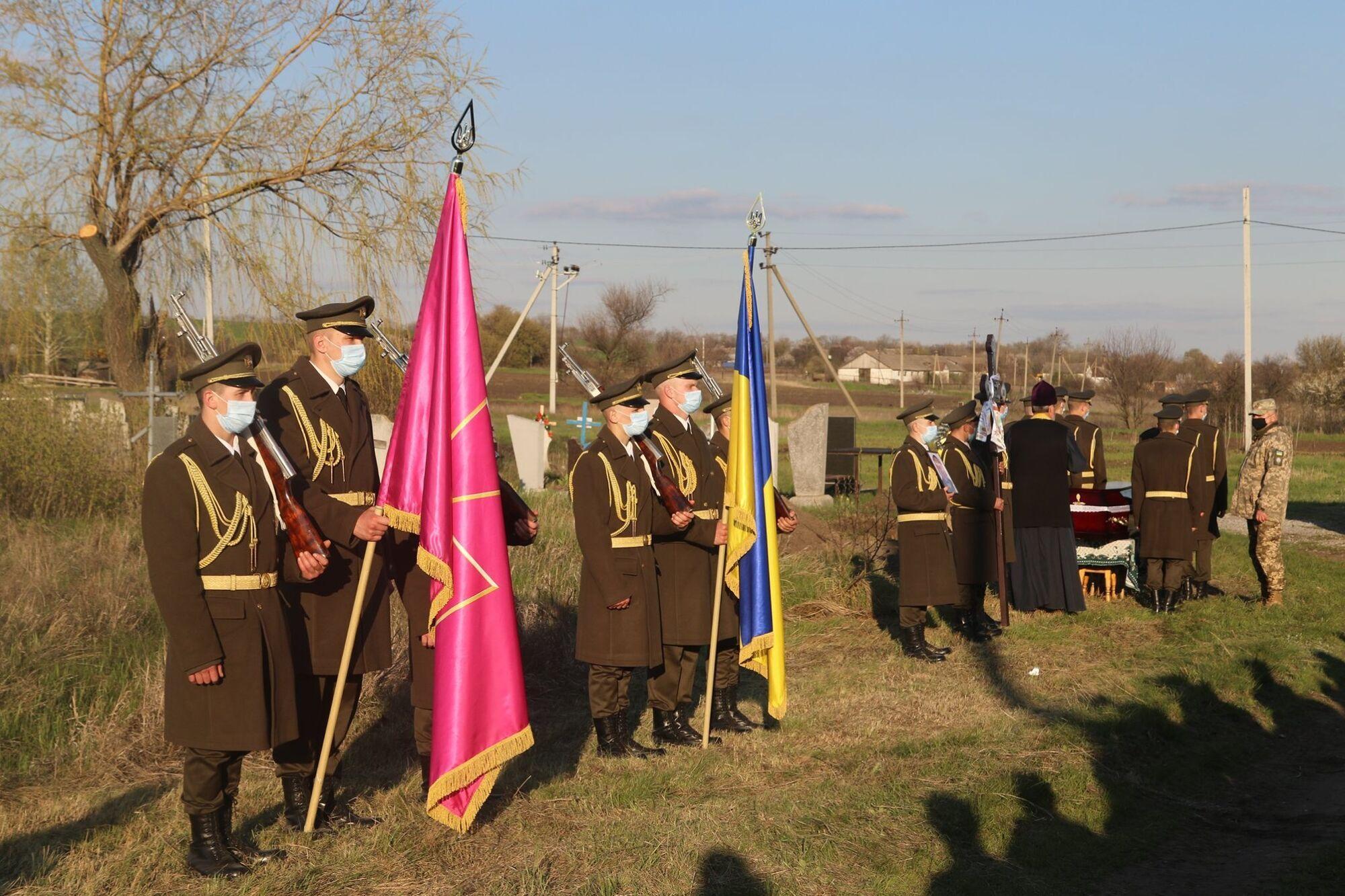 Церемония прощания состоялась в селе Николаевка