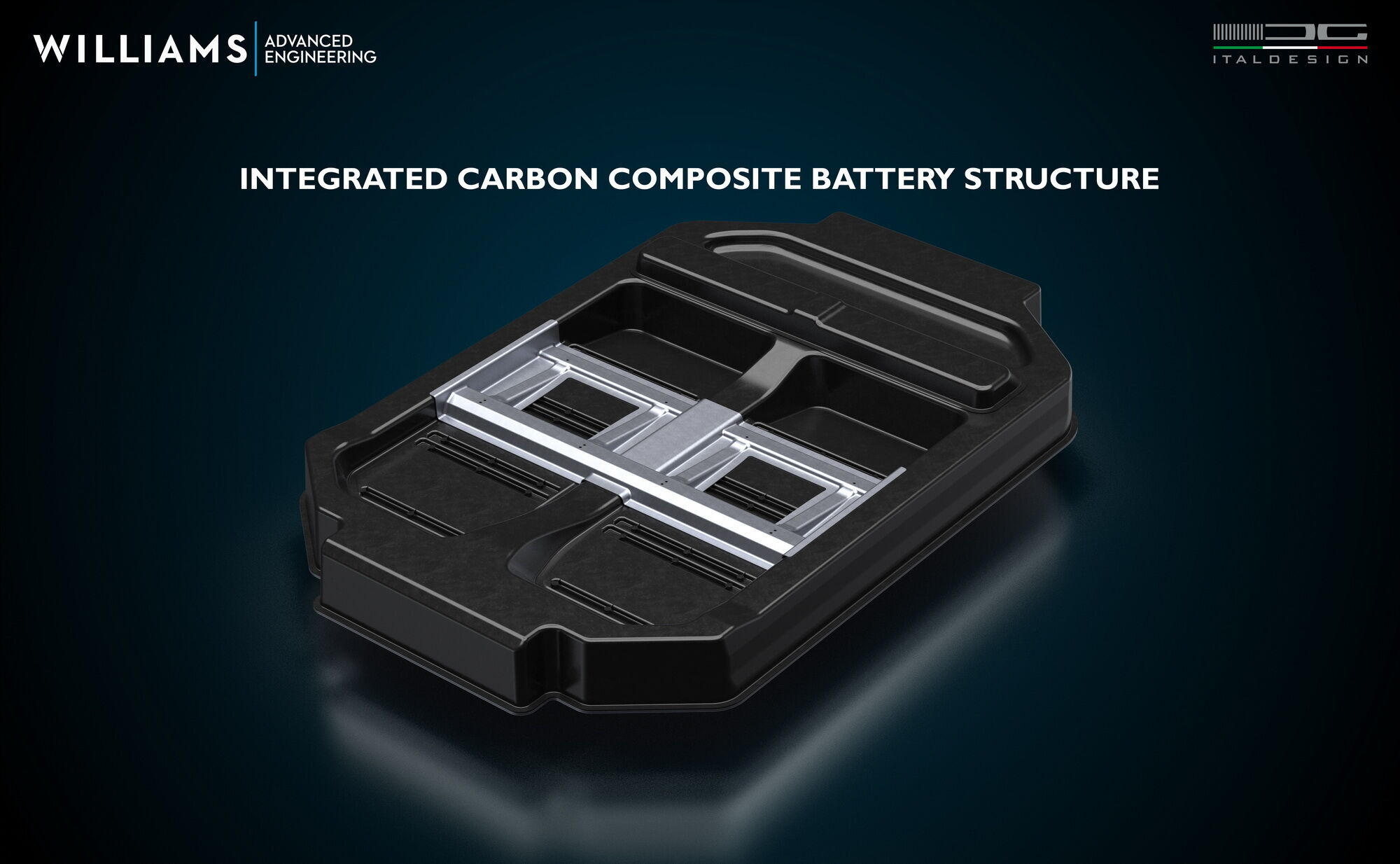 Батарейные модули интегрированы в карбоновый корпус, выполняющий несущую функцию