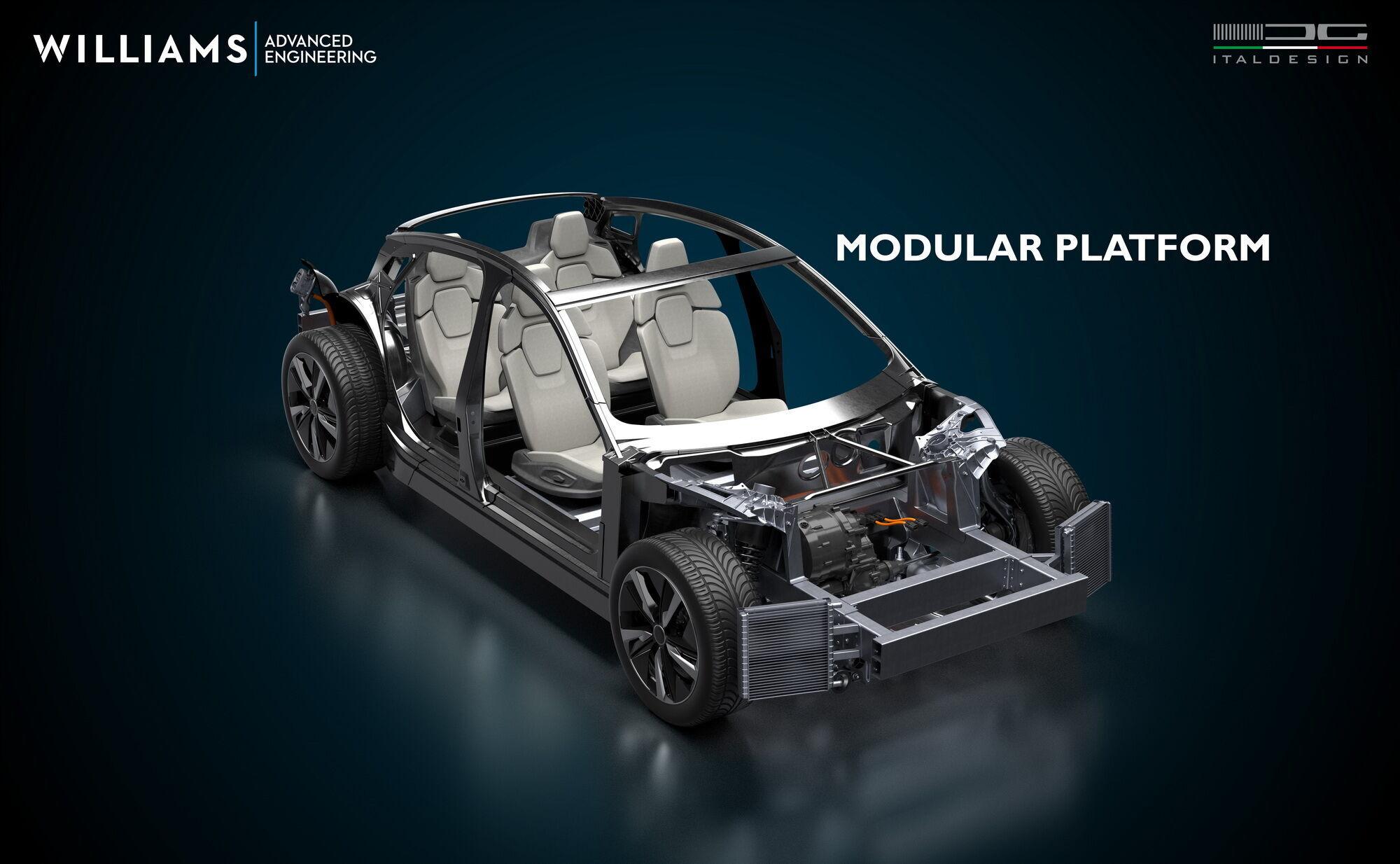 Модульная платформа предусмотрена для создания автомобилей любых типов