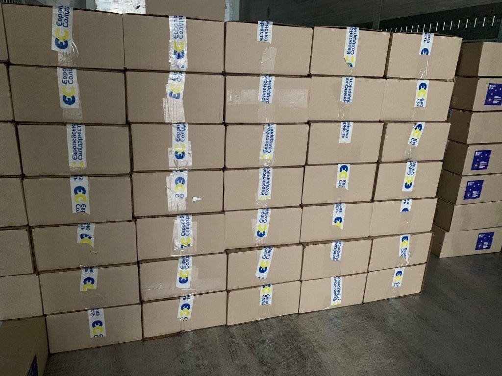 За останні два тижні 7 тисяч наборів вже відправили в різні регіони України