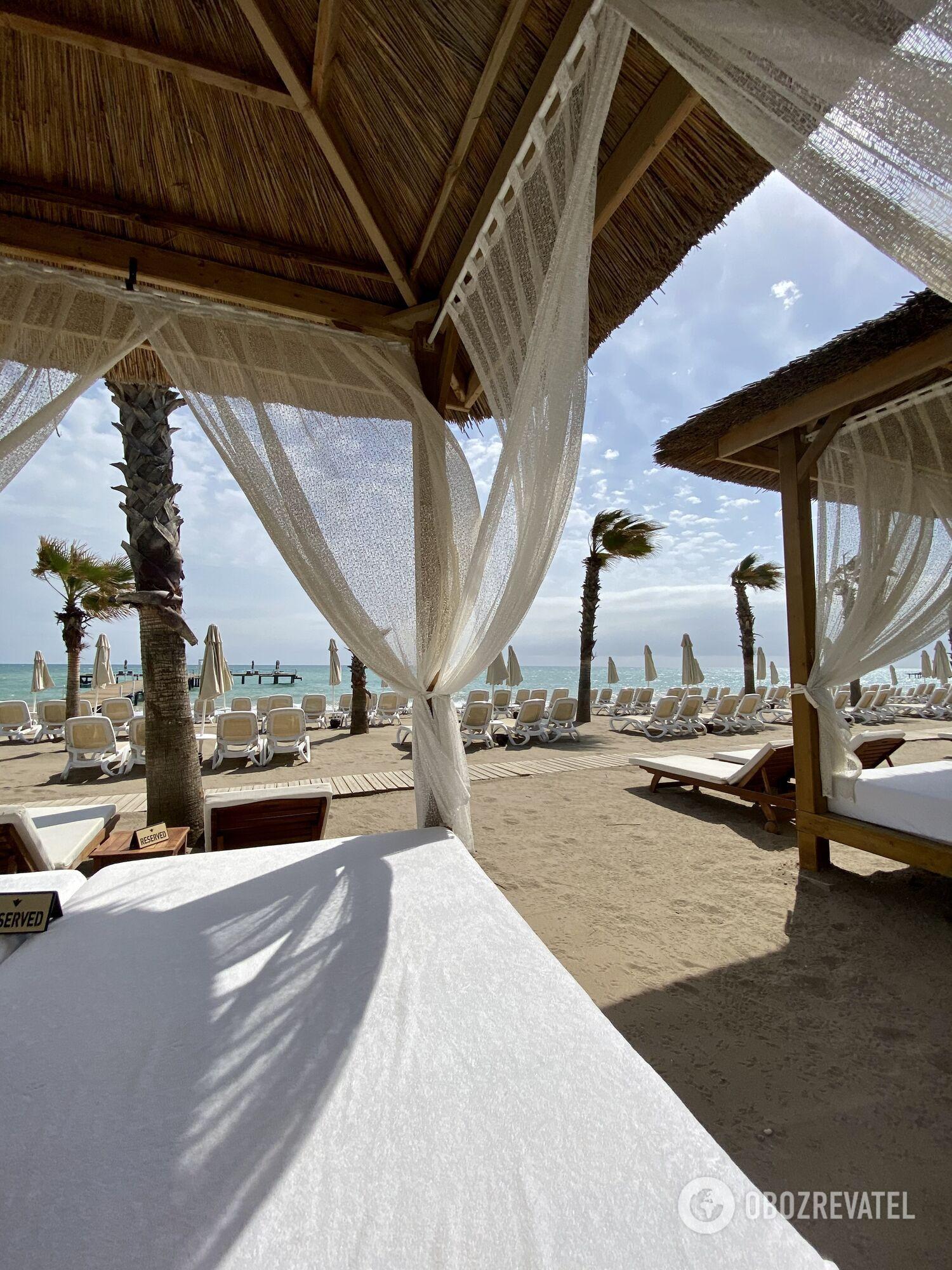 Пляж Rixos Premium Belek