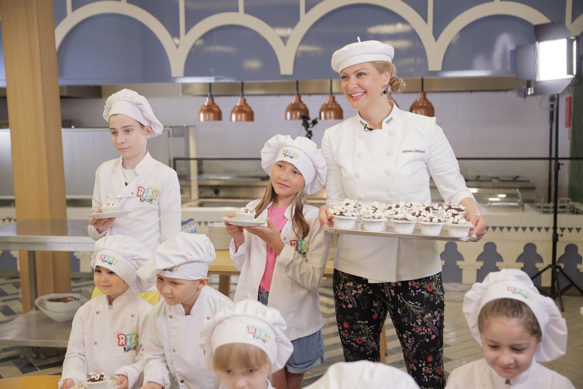 Детский мастер-класс Татьяны Литвиновой.