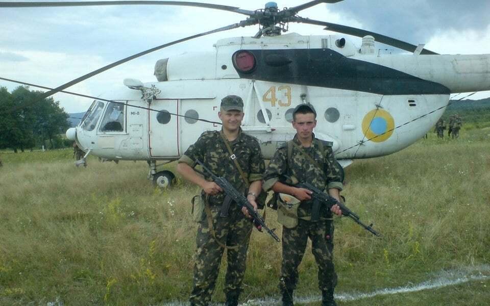 Український Мі-8МТ 43 Жовтий (93968)