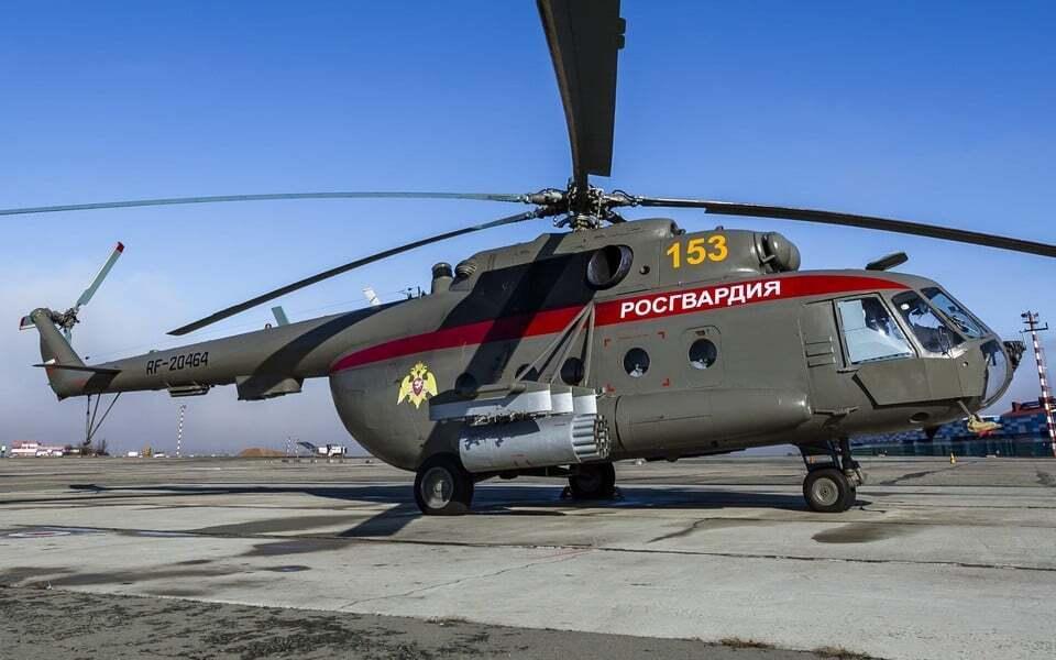 Український гелікоптер, який окупанти передали Росгвардії