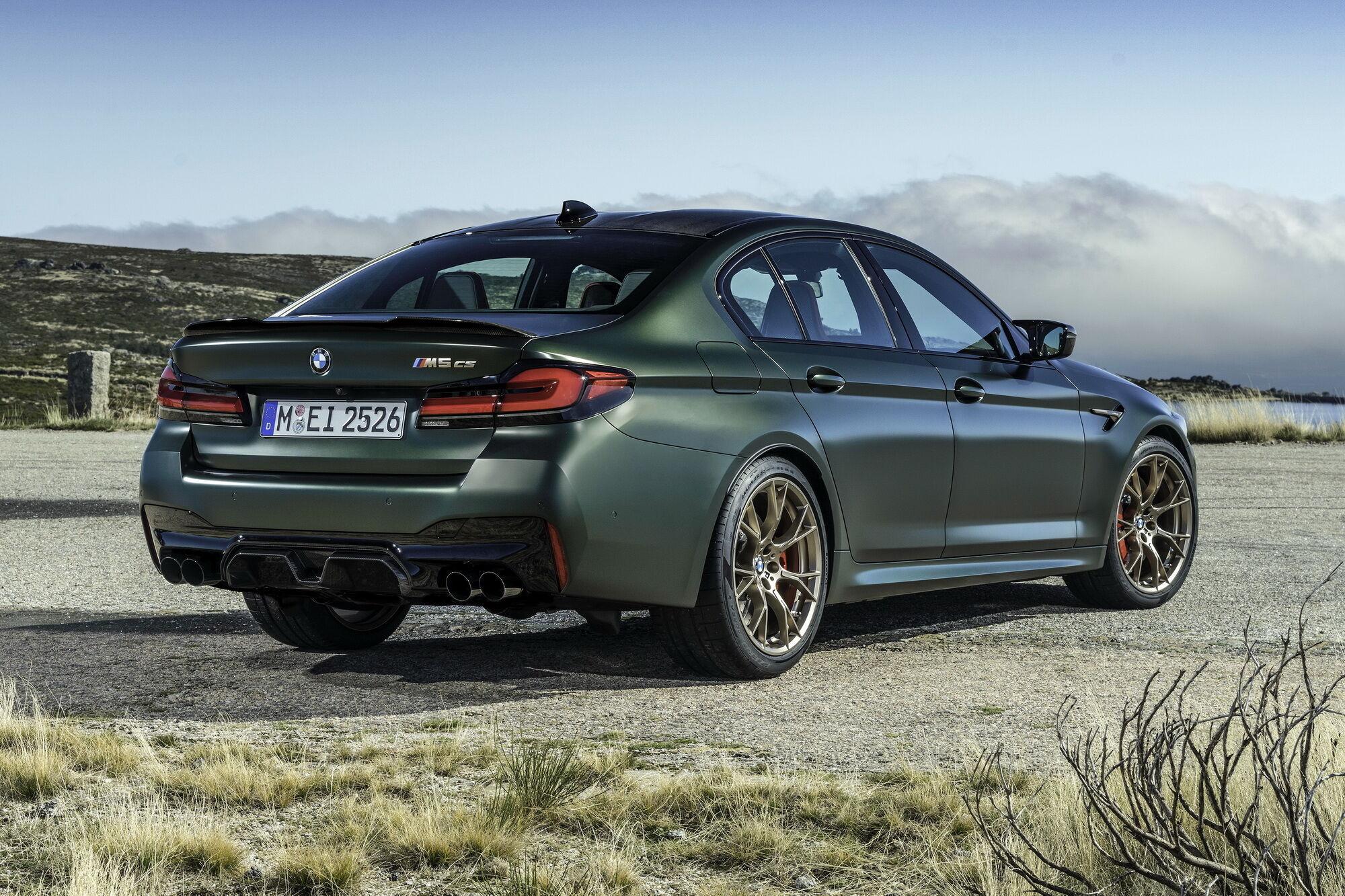 """На разгон до первой """"сотни"""" BMW M5 CS требуется всего 3 секунды"""
