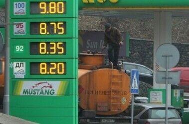Ціни на бензин на початку 2010-х