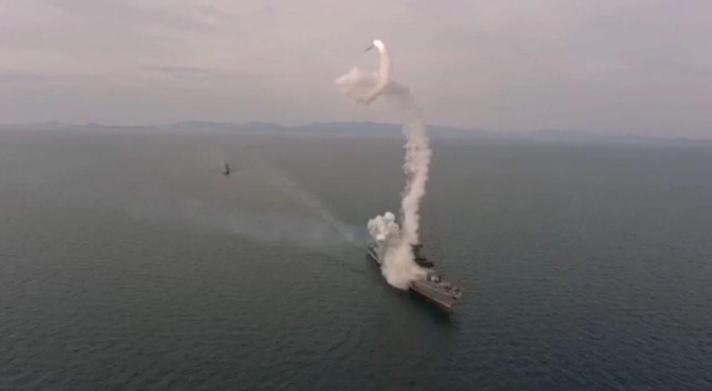 """Російська ракета """"Калібр"""" впала у море, втративши напрямок польоту"""