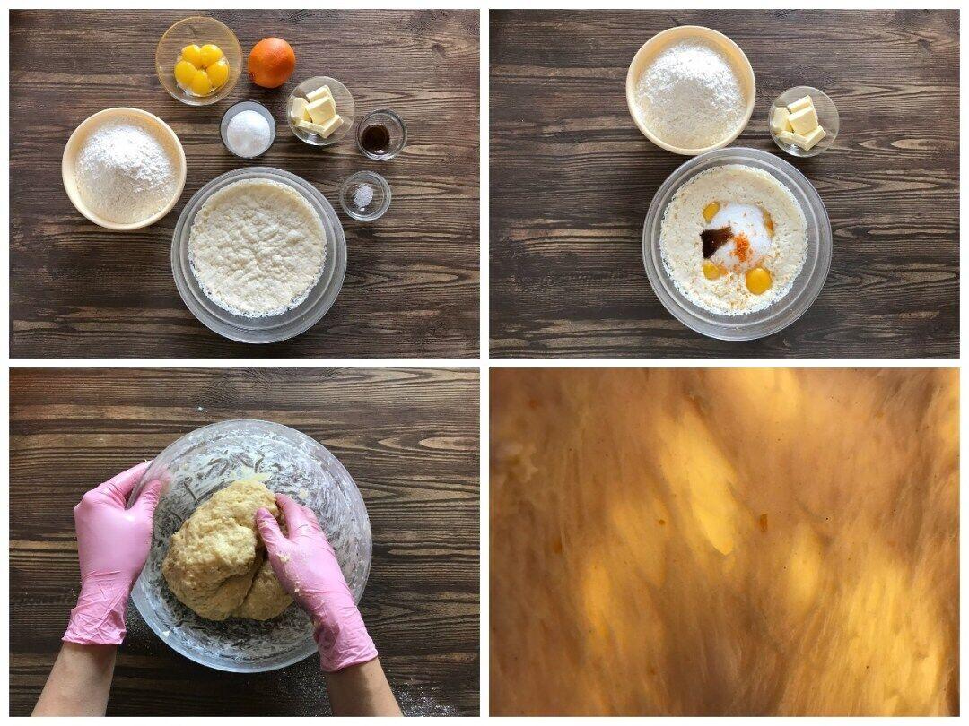 Процес приготування панеттоне
