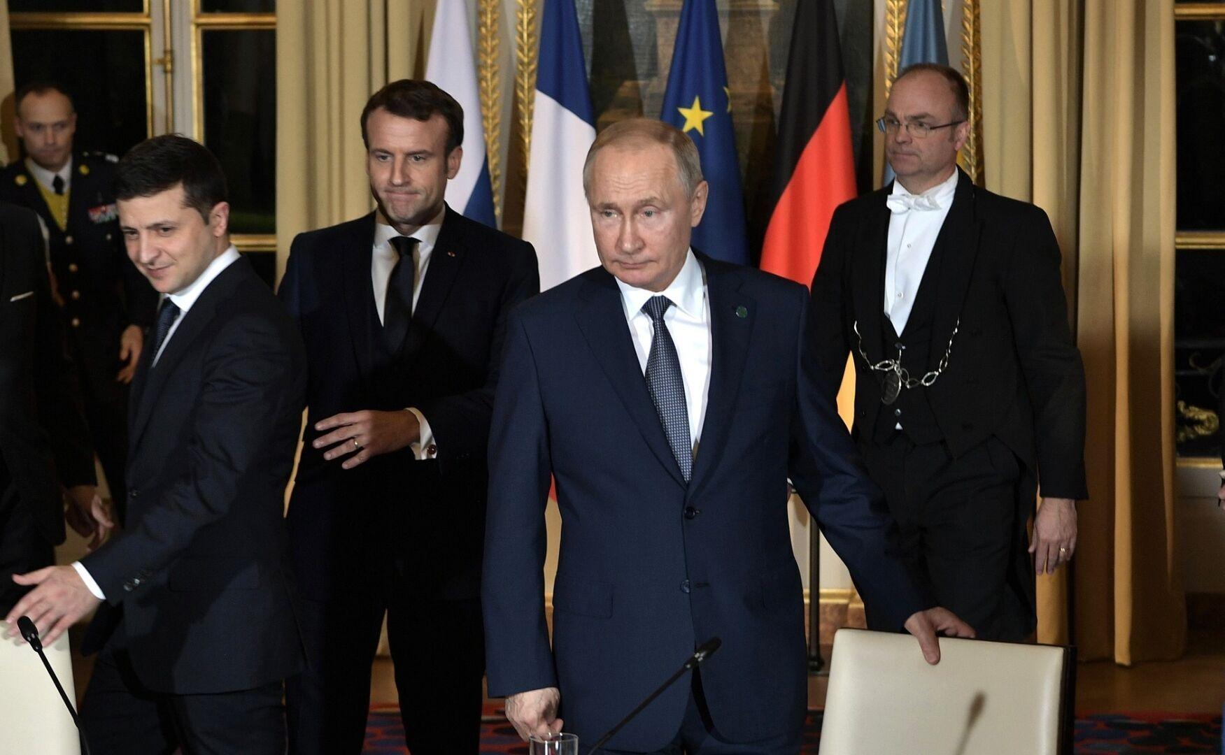 Остання зустріч у нормандському форматі пройшла в грудні 2019 року в Парижі