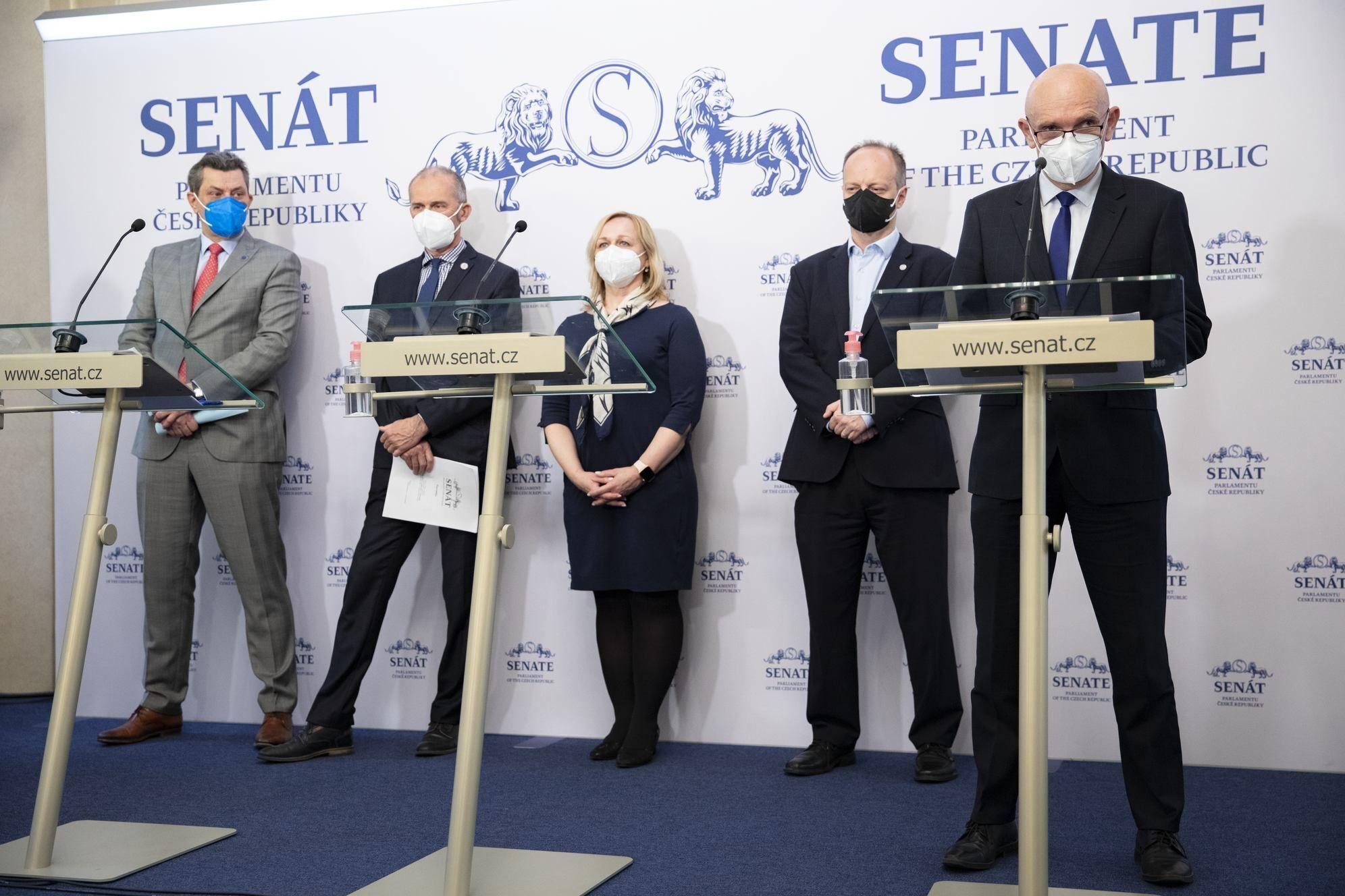 Голови фракцій у Сенаті Чехії
