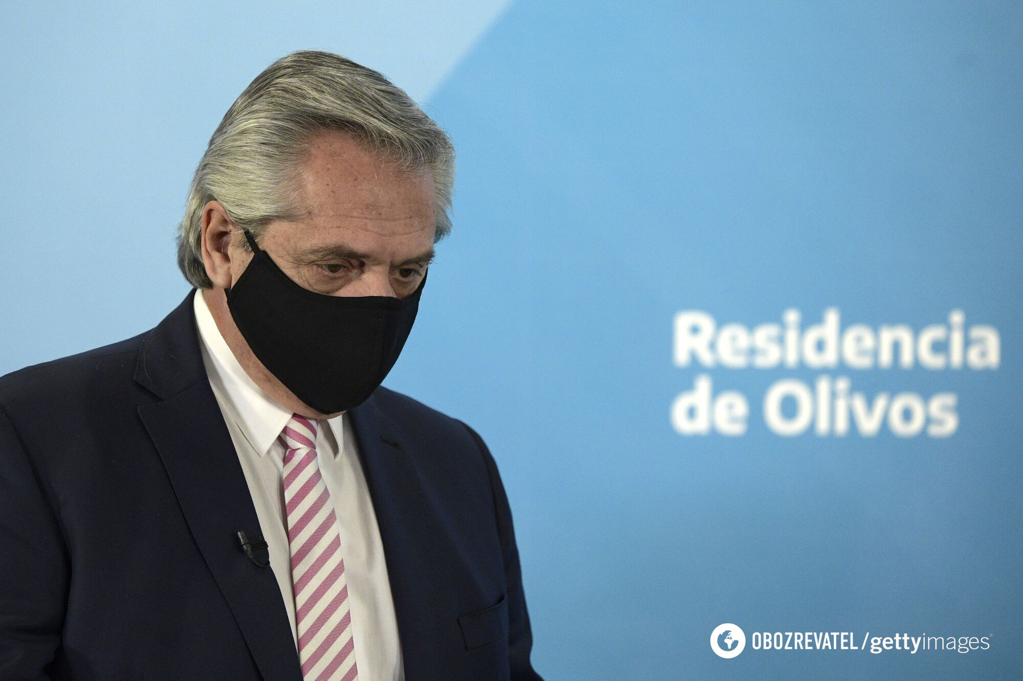 Президент Аргентини Альберто Фернандес