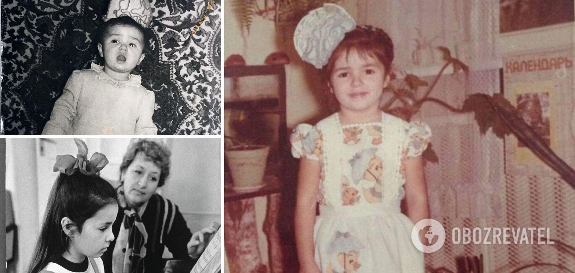Як виглядала Злата Огнєвіч у дитинстві