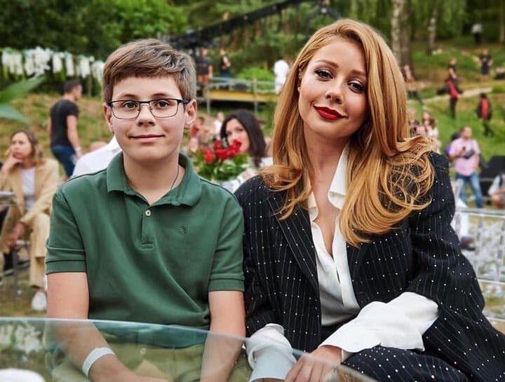Кароль с сыном Вениамином.