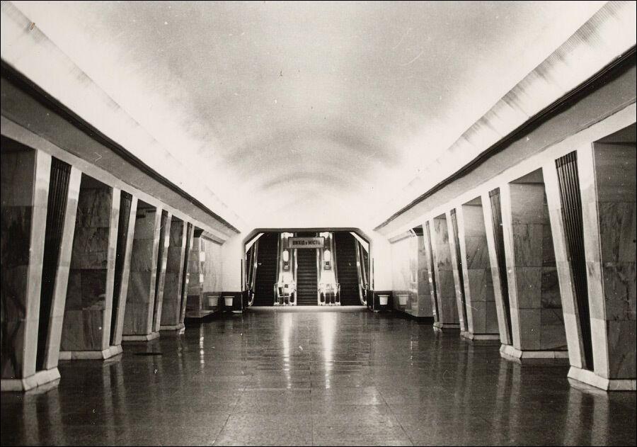 Станция в первые годы работы.
