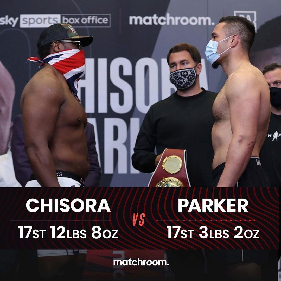 Matchroom Boxing.