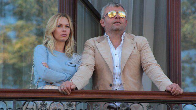 Григорій Козловський із дружиною Юлією Думанською