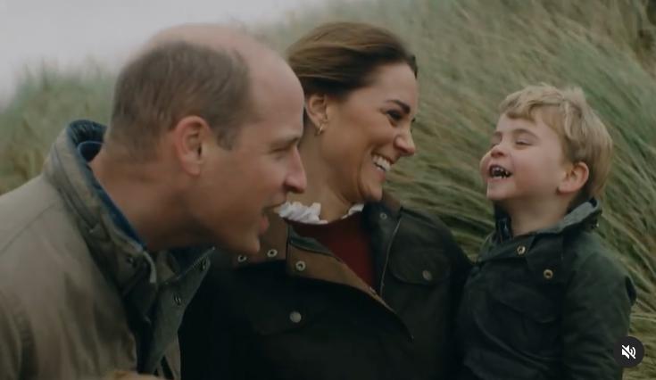Герцоги Кембриджські разом з дітьми