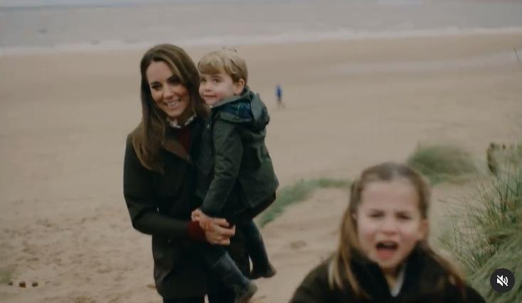 Кейт Міддлтон у зворушливому відео разом з дітьми