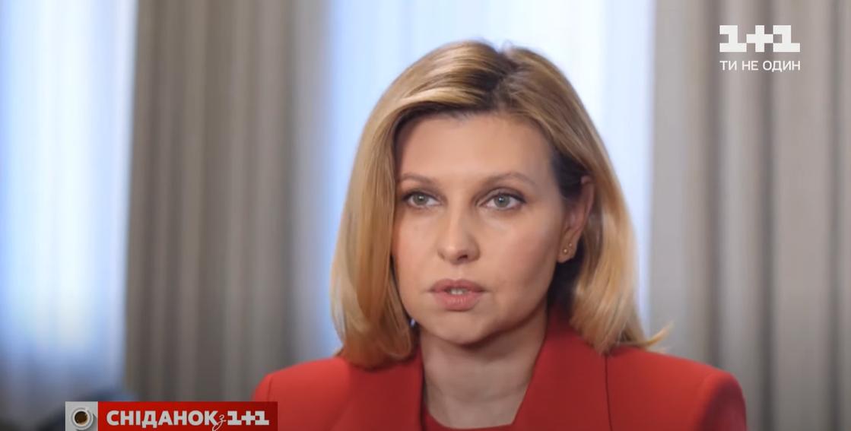 Елена Зеленская повторила стильный ярко-красный образ