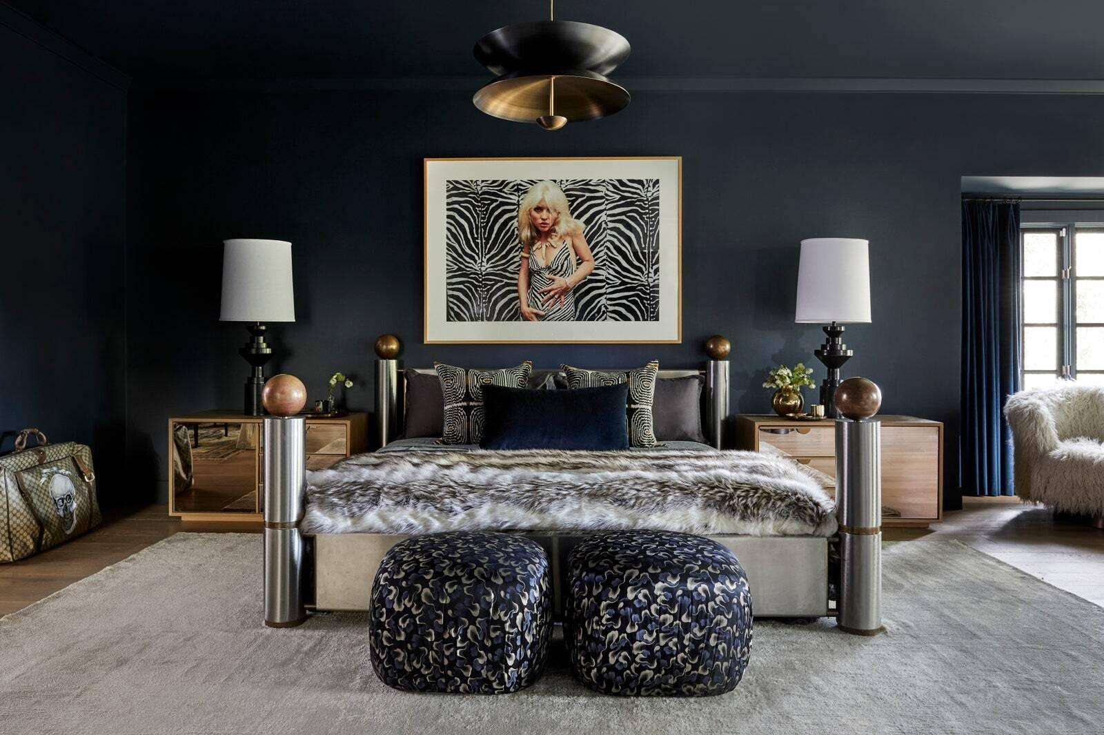 Спальня в доме Майли Сайрус