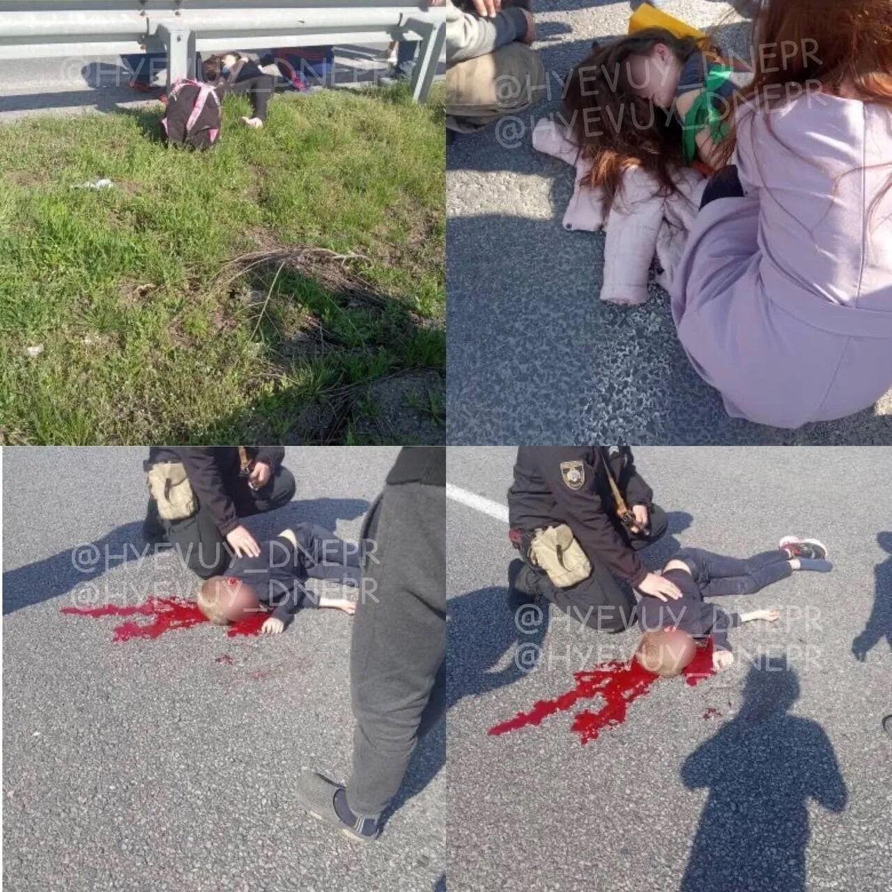 Дітей збили на пішохідному переході.