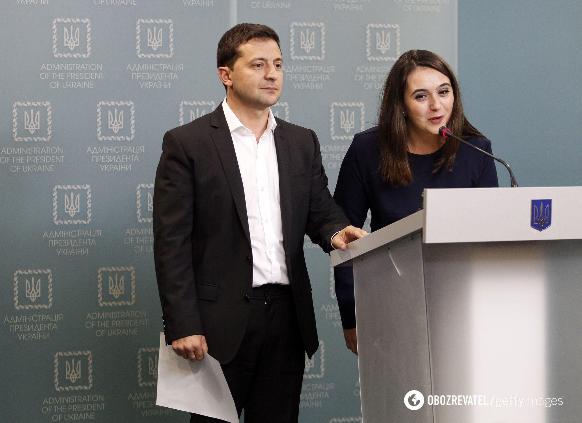 Мендель стала пресс-секретарем Зеленского с 3 июня 2019-го