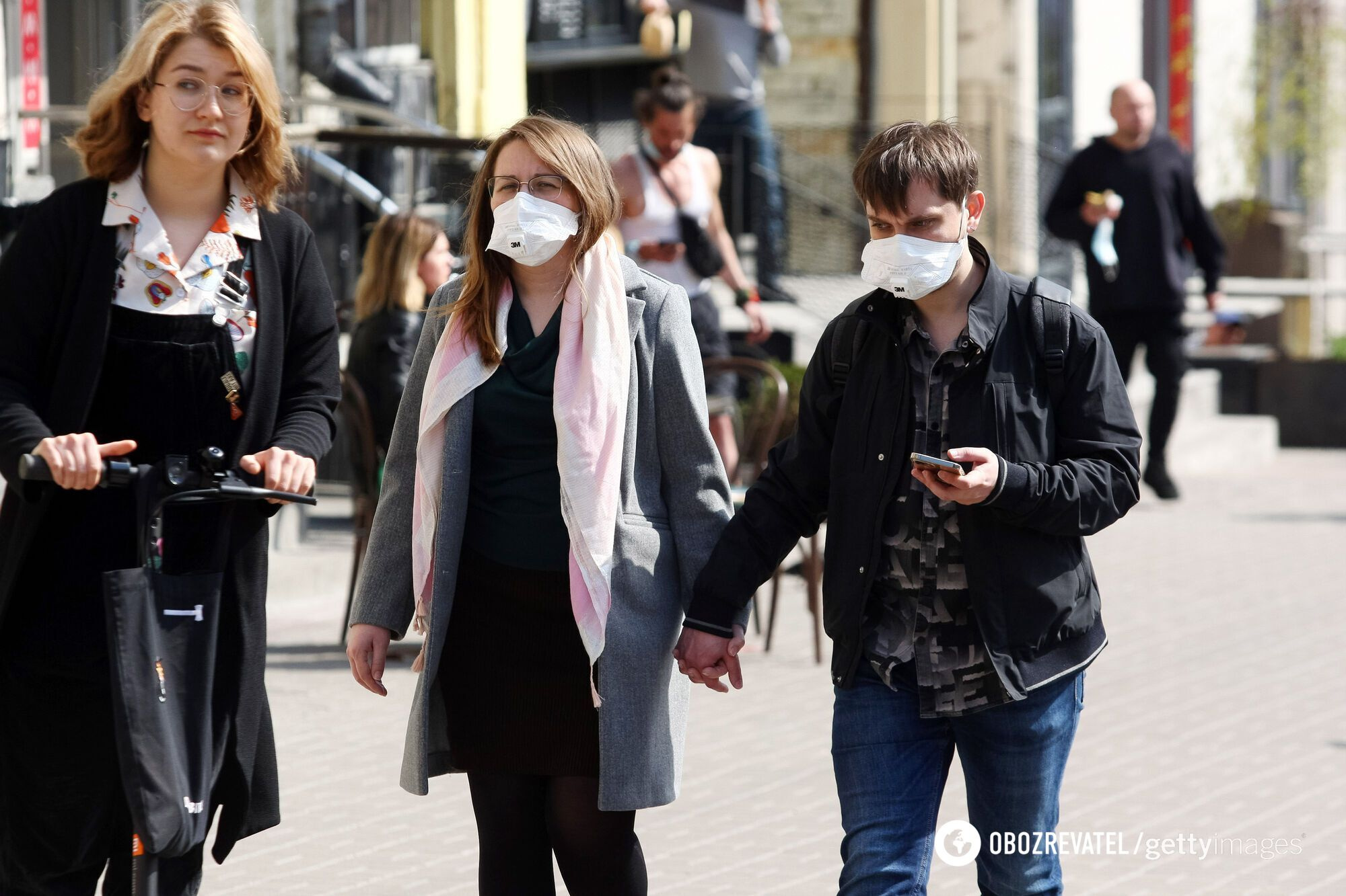 Очередная волна коронавируса в Украине идет на спад