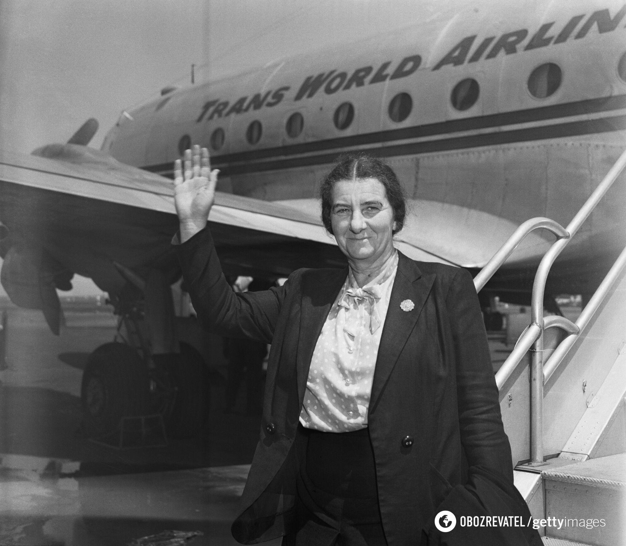 Голда Меир в Нью-Йорке, 1948 год