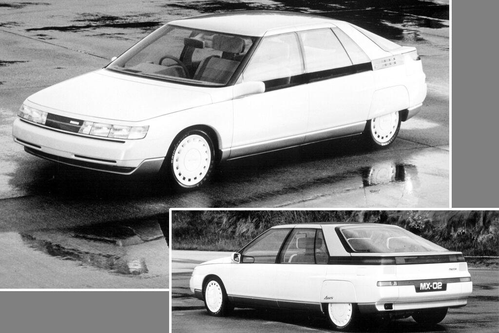 В 1983 году увидел свет 5-дверный хэтчбек MX-02