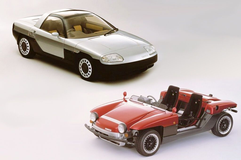 Шляхом нескладних маніпуляцій купе MX-04 перетворювалося на відкрите всім вітрам бггі