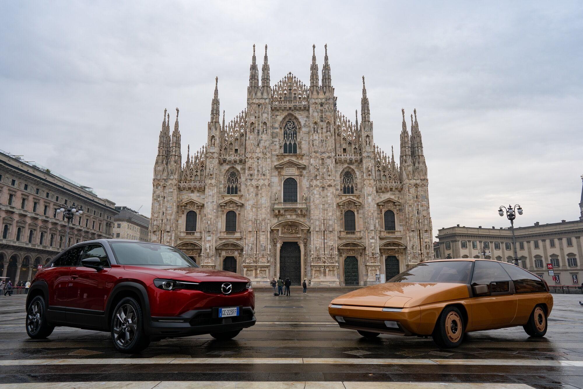 Mazda MX-30 и концепт MX-81 Aria в Турине