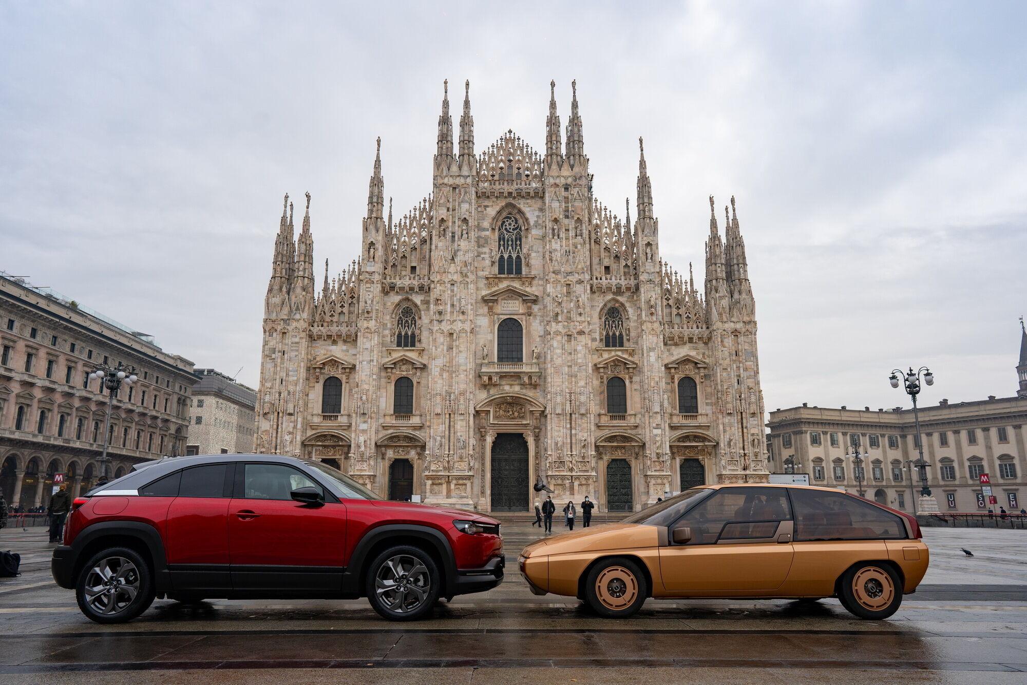 Эти автомобили разделяет 40 лет