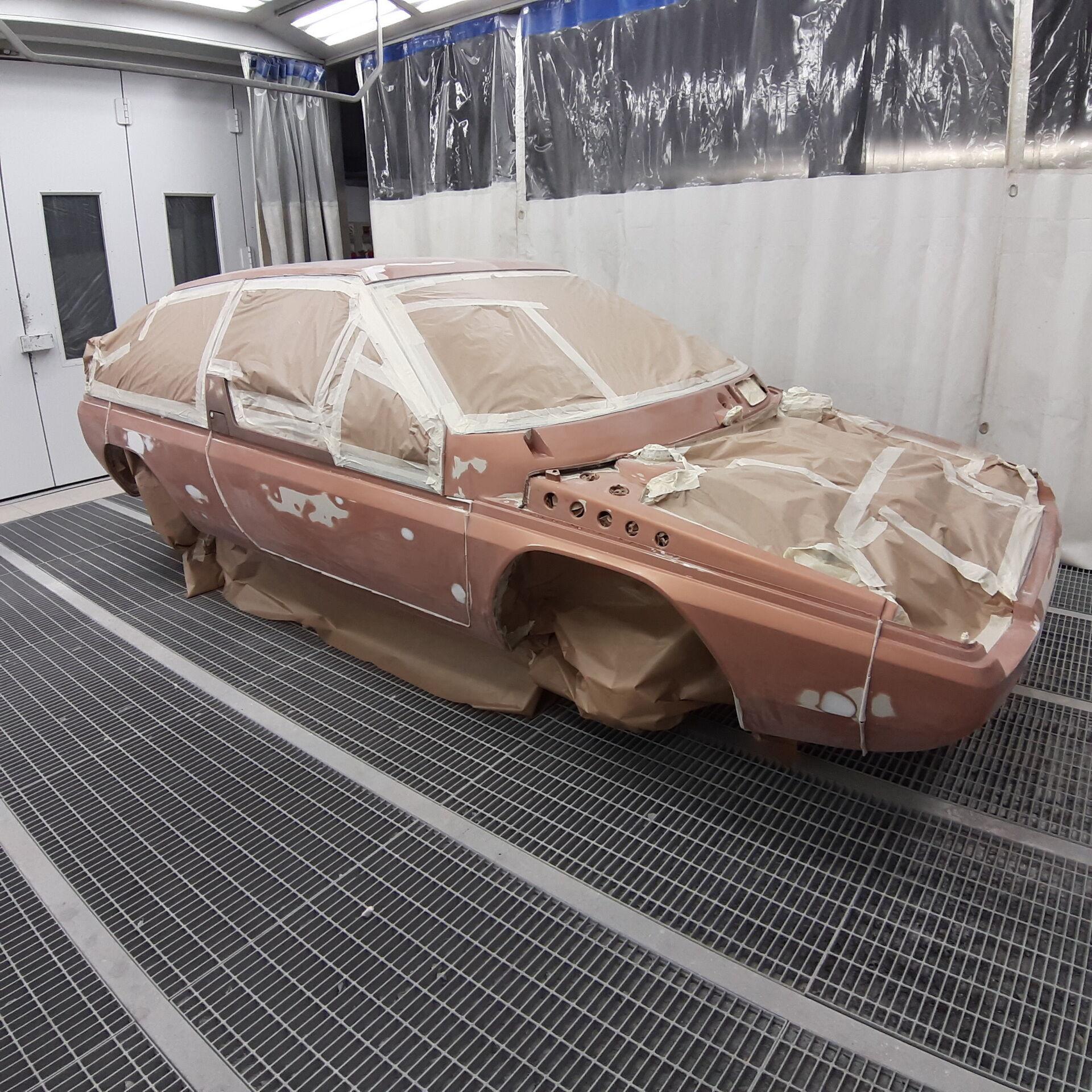 MX-81 Aria в процессе реставрации