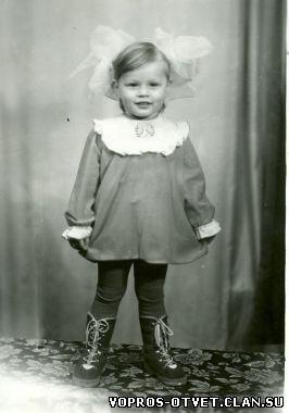 Как выглядела Ольга Фреймут в детстве