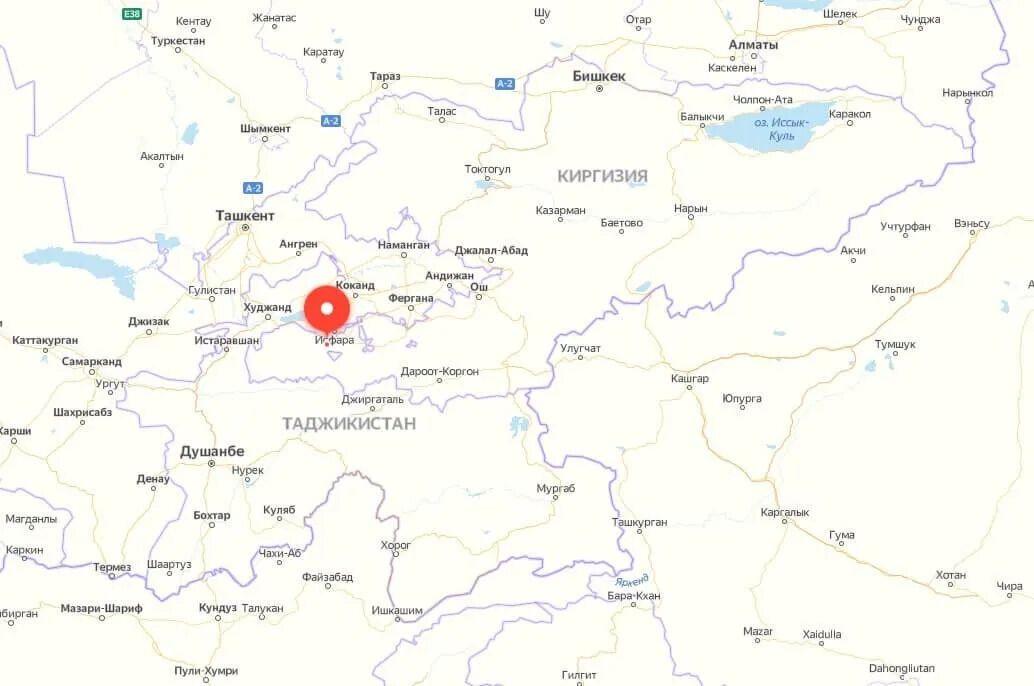 Эскалация конфликта на границе Таджикистана и Кыргызстана
