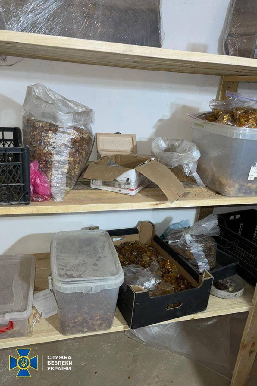 В апреле СБУ остановила незаконную добычу янтаря и разоблачила схему хищения земель