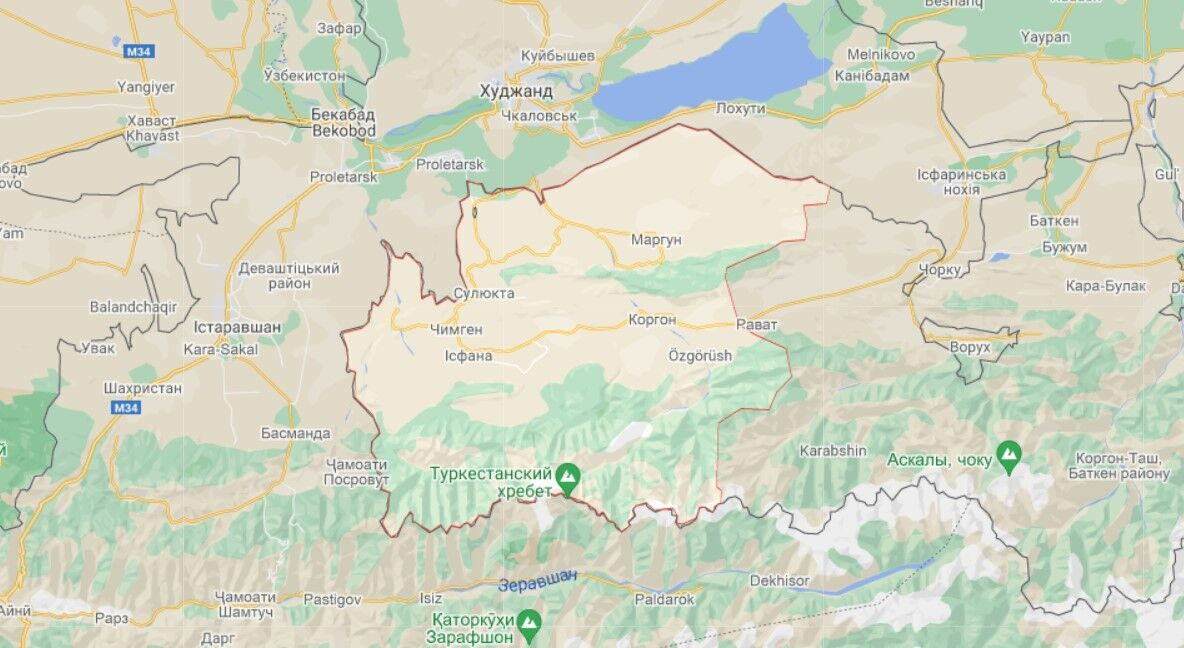 Лейлекский район Баткенской области Кыргызстана