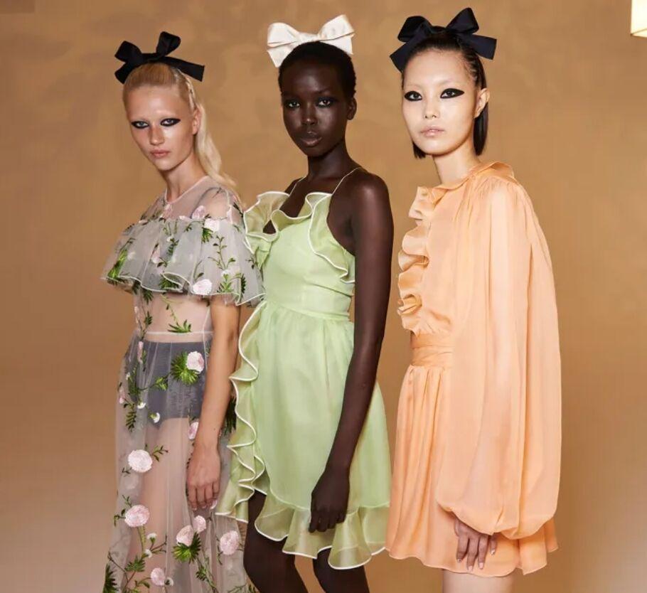 Кукольные платья от бренда Giambattista Valli