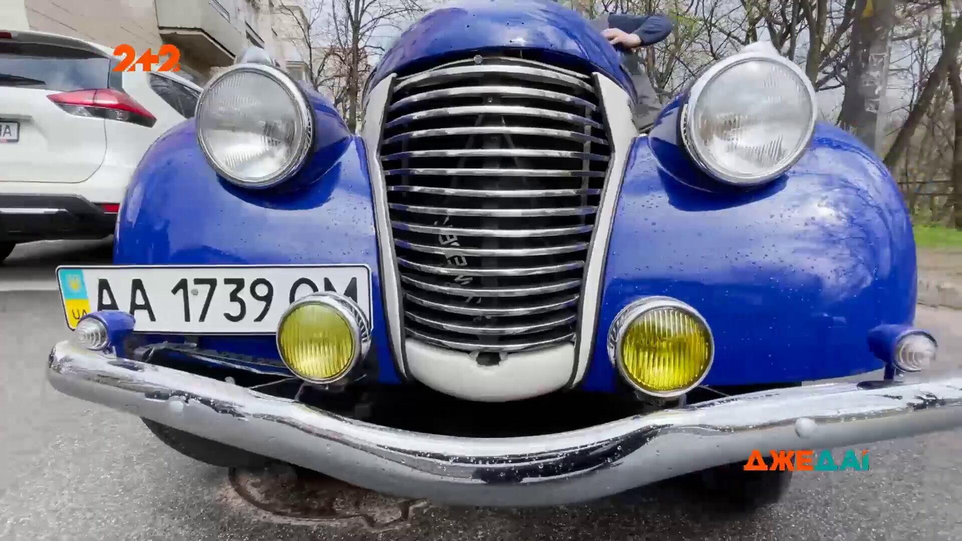 Классический автомобиль 30-х годов прошлого века получил новую жизнь