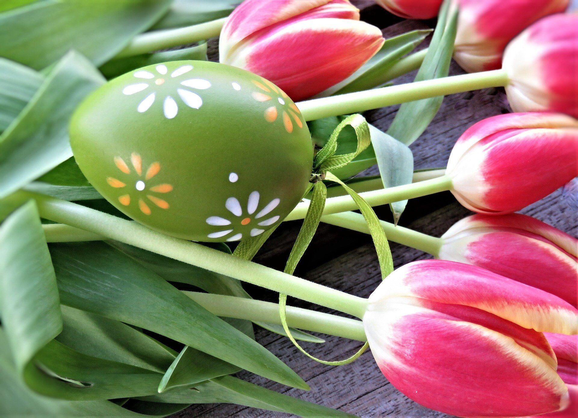 Зеленый – символ весны