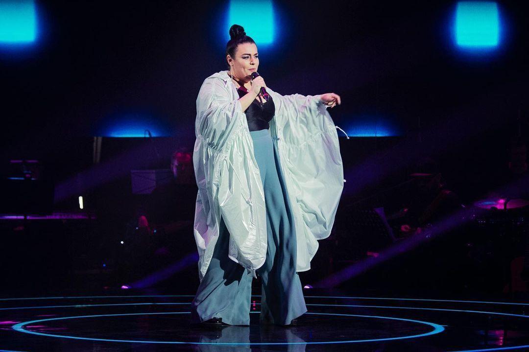 Следующей на сцене появилась Алена Левашева
