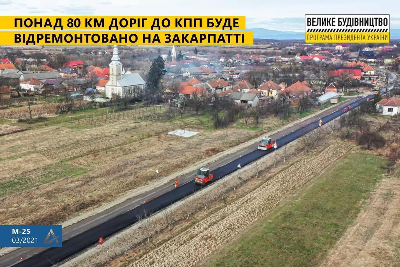 """""""Большая стройка"""" дорог к границам: Укравтодор обнародовал план на год"""
