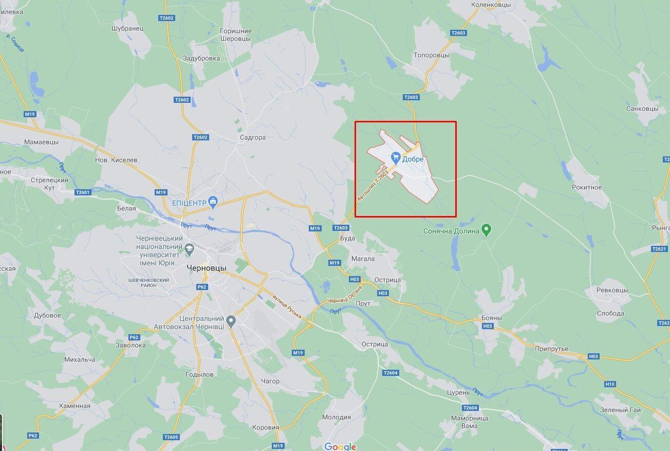 Смерч зафиксировали в селе Редковцы.