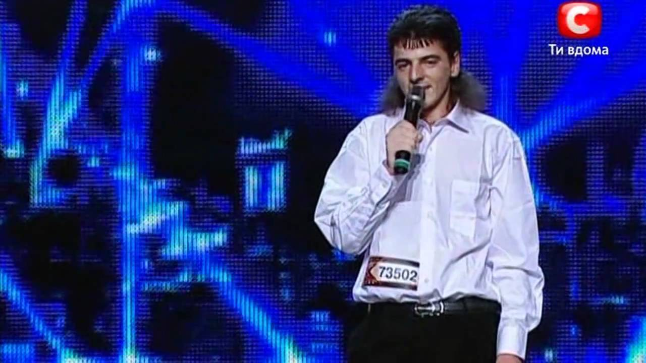 Українець на сцені талант-шоу