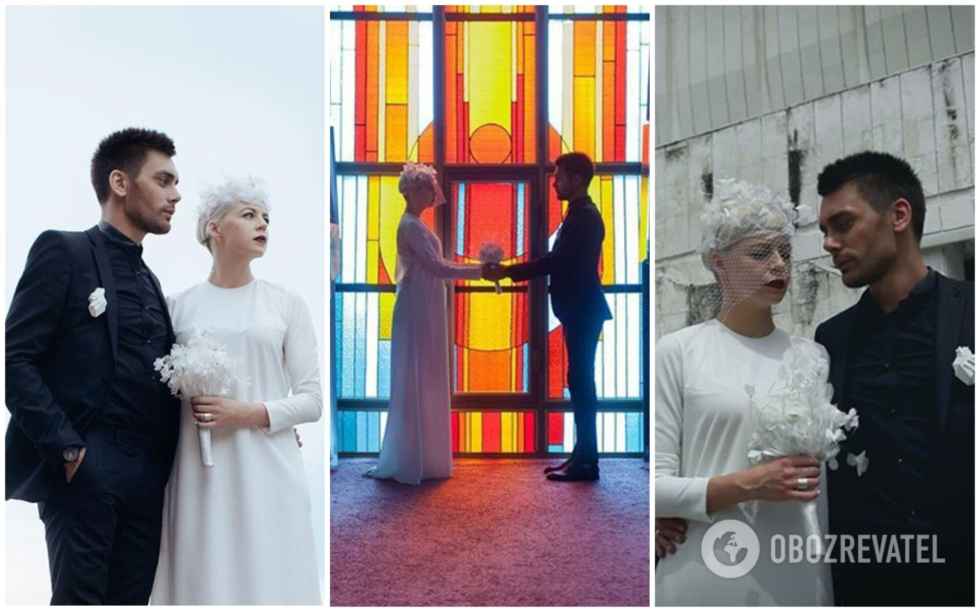 Ната Жижченко (Onuka) и Евгений Филатов (The Maneken) поженились в конце июня