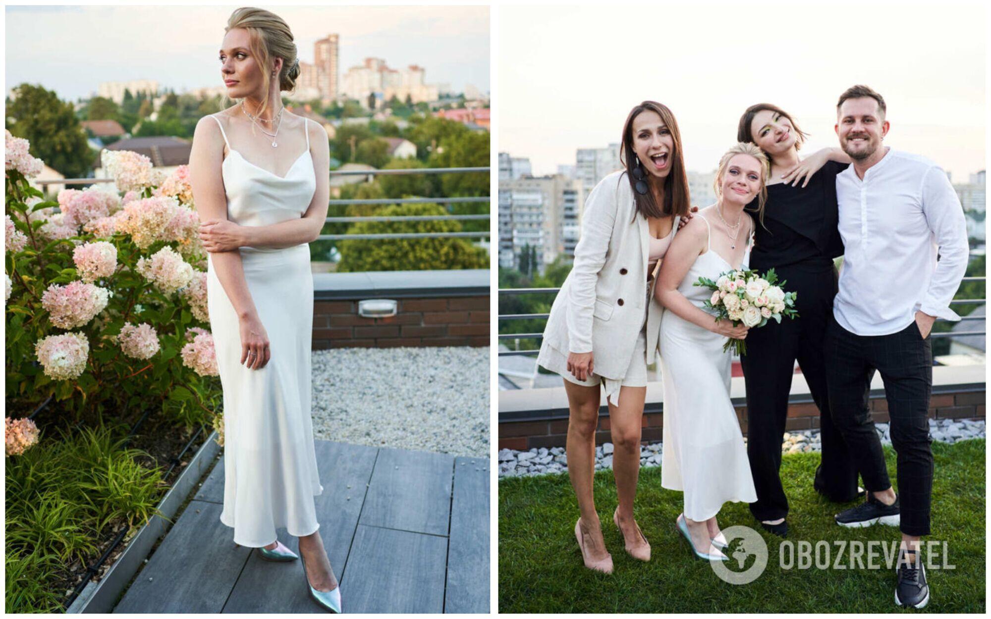 """Весілля акторки """"Жіночого кварталу"""" Аліни Гордієнко відбулося на даху"""